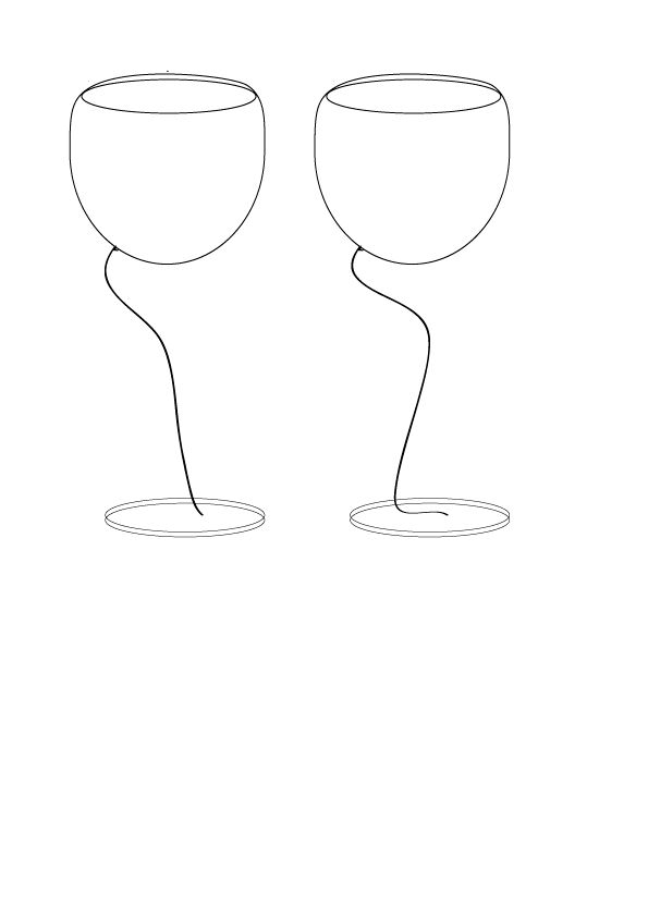 redesign of glass of wine
