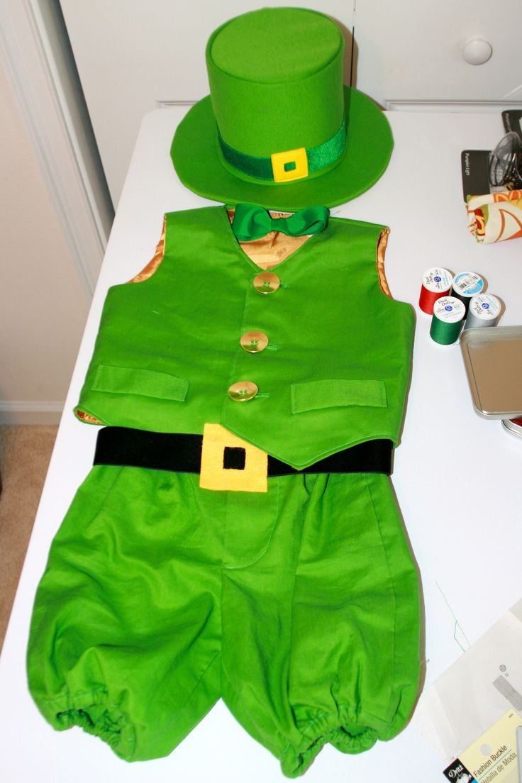 Leprechaun Costume might be able to find a hat for St. Patrick's Day