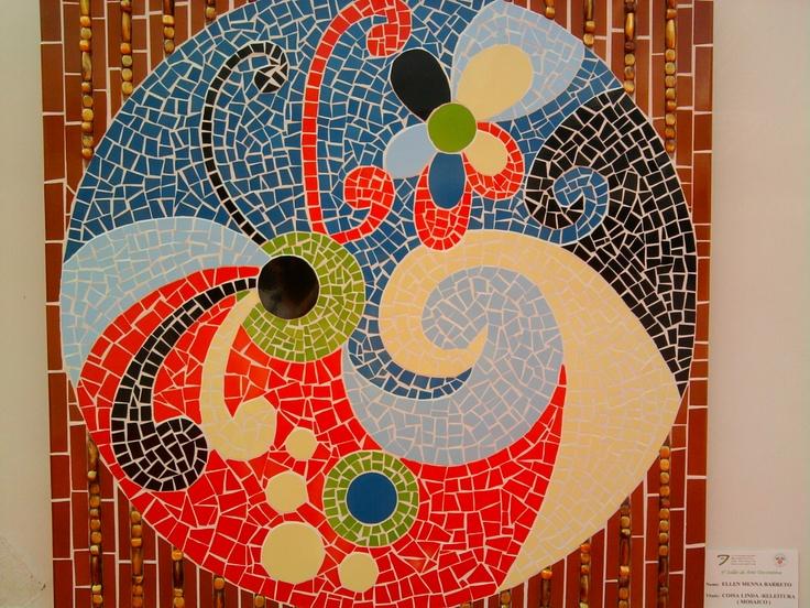 Tampo de mesa.: Mesas Mosaico
