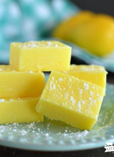Lemon Fudge {Five Minute}