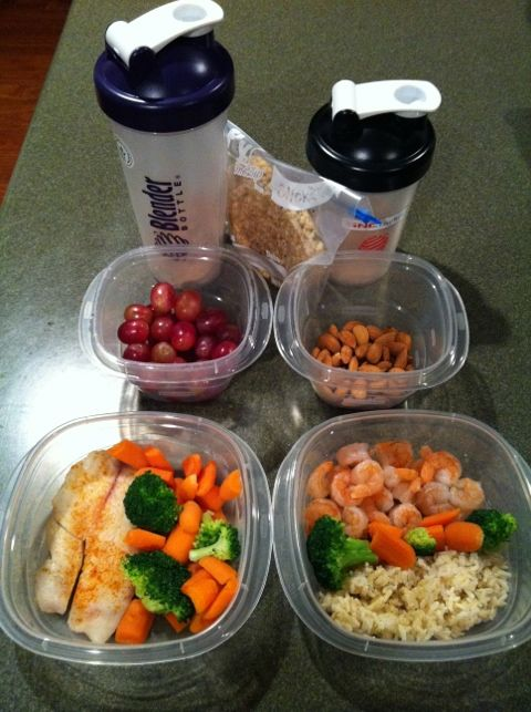 21 best nutrisystem images on pinterest healthy meals healthy healthy lunch ideas tilapia veggies grapes shrimp brown rice almonds healthy meal forumfinder Images