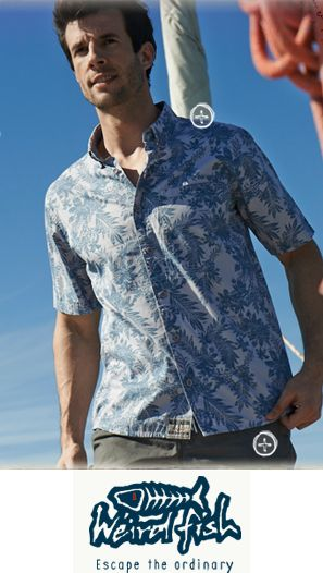 Escape the ordinary with Weird Fish. INDX Menswear 30-31 July www.indxshow.co.uk