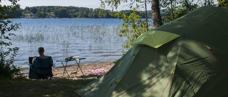 Ivö Camping - In Ivölake Skåne | Sweden
