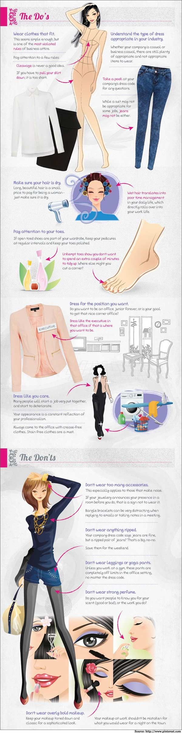 Interview Dress Codes And Hairstyles On Pinterest - Www