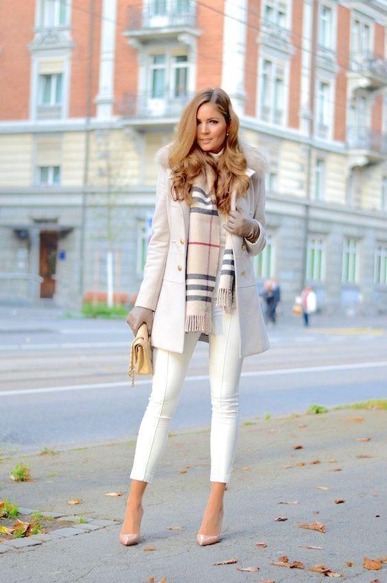 Zu dieser Zeit hatten die Menschen im Winter nicht die Gewohnheit, Weiß zu tragen