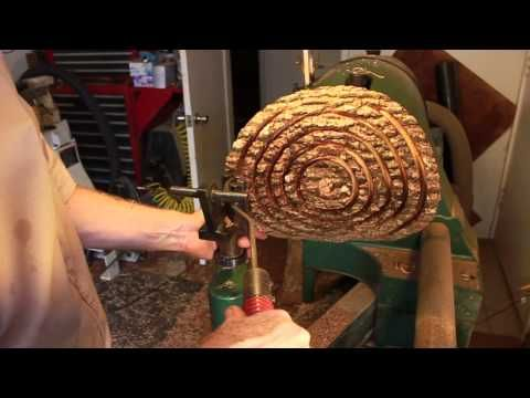 Natural Edge Nested Bowl Sets by Andy Cole - YouTube