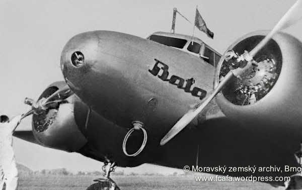 Baťa Lockheed Electra L-10A #batashoes