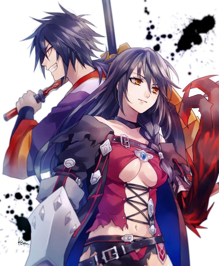 Velvet & Rokurou | Tales of Berseria