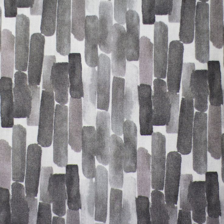 Flora Blocks Grey