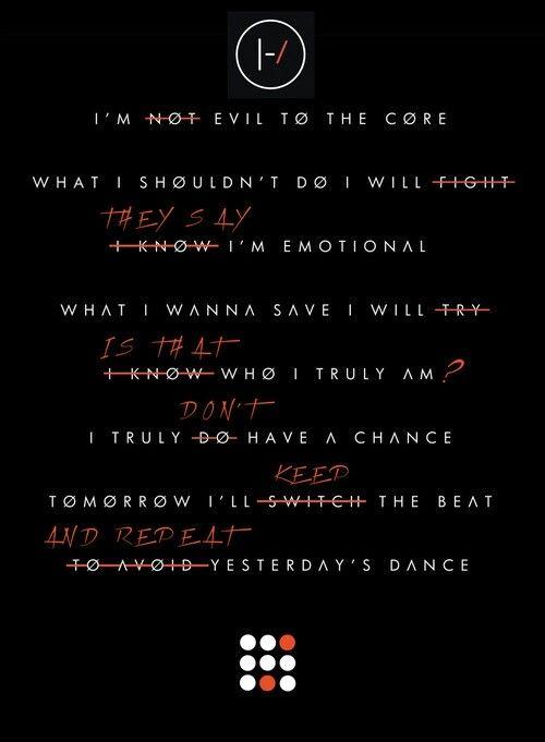 Lovely Lyrics Twenty One Pilots best 25+ twenty one pilots poster ideas on pinterest   twenty one