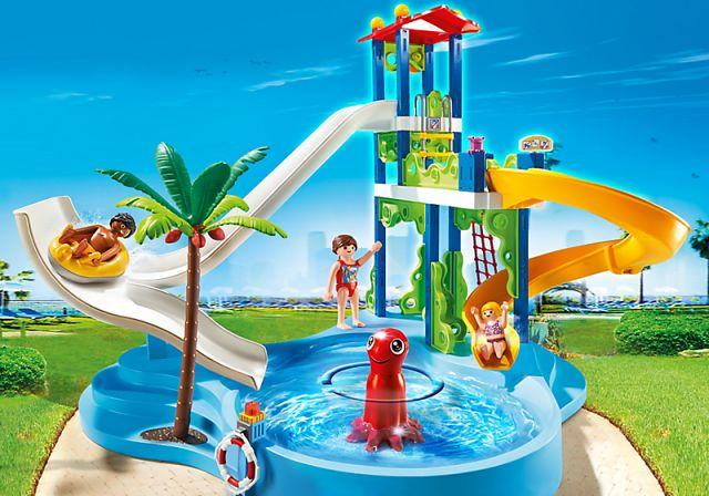 Aquapark med sklietårn