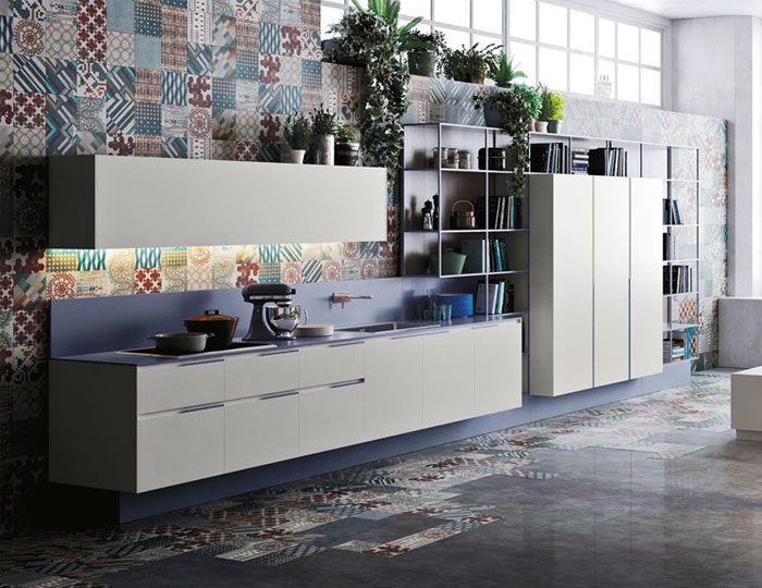152 best Einbauküchen images on Pinterest Contemporary unit - kchen weiss landhausstil modern