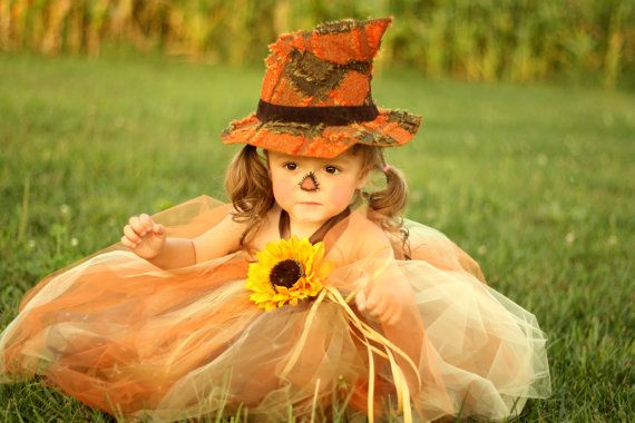 Sassy Little Scarecrow Tutu Dress sz 03 YRS by lauriestutuboutique