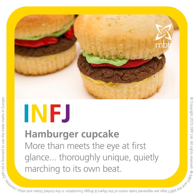 INFJ bake off!