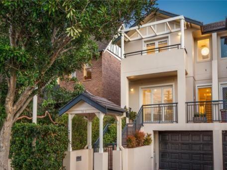 84A Ourimbah Road, Mosman sold $1,850,000 3 B/R, 2 Bath (inc ensuite) study, views double parking
