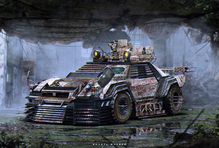 Cheap Exotic Cars >> The Zombie Apocalypse Cars of the Future by Khyzyl Saleem ...