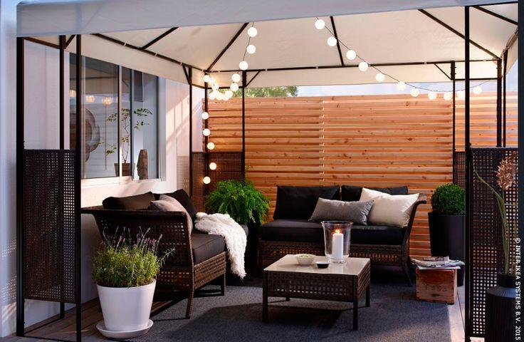 Tout le monde dehors pour la belle saison ikea jardin terrasse ammer tonelle chez moi - Ikea pour le jardin montreuil ...