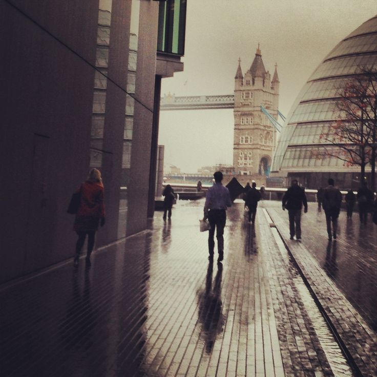 On the way to the office #london @Room in the Moon