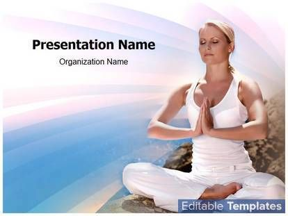 Yoga PowerPoint design template. This #Graphic #Design #template can be associated with #Energy #Exercise #Harmony #Health #Yoga #Leisure #Lifestyle #Meditation #Mind #Peace #Relaxation #Slim #Soul #Spiritual #Wellness #Woman etc.