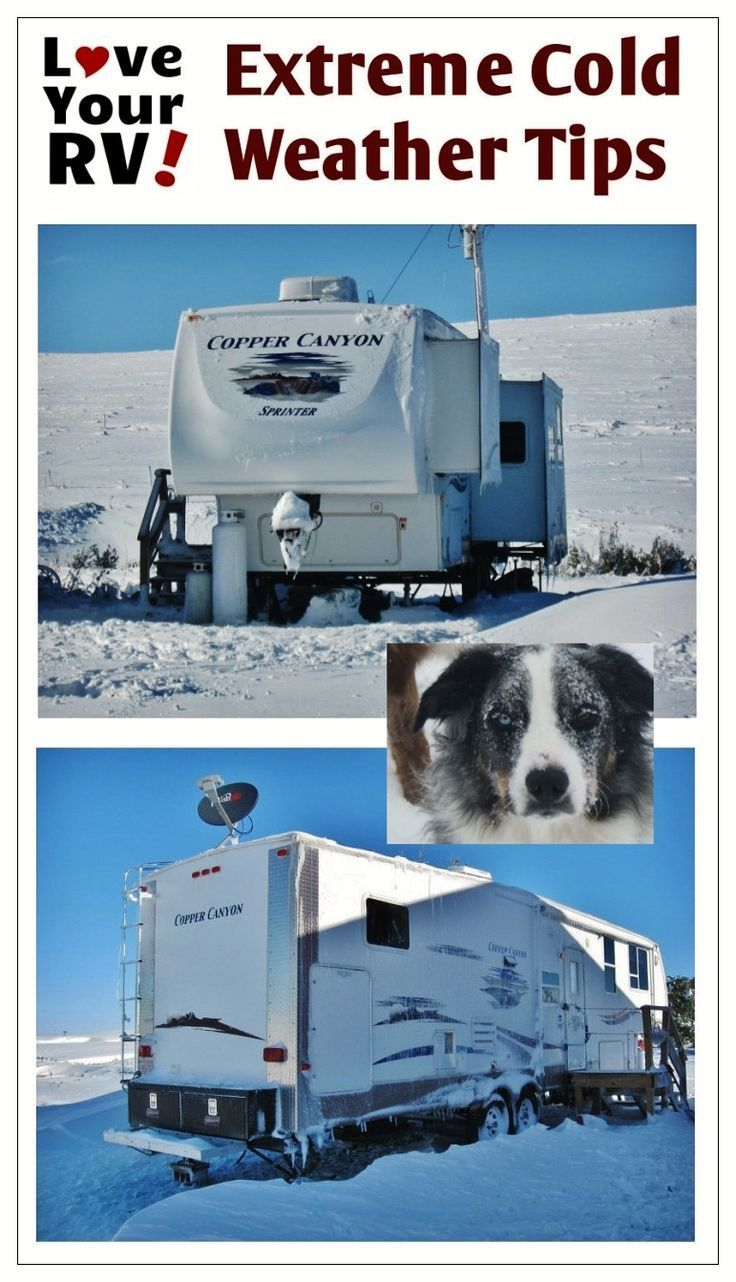 Tips And Tricks For Cold Weather Rving Full Time Rv