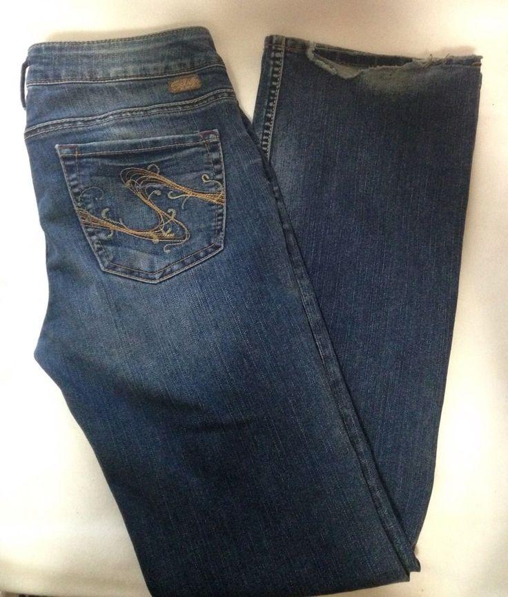 Women's Silver Jeans Toni Size 30/33 #SilverJeans #BootCut