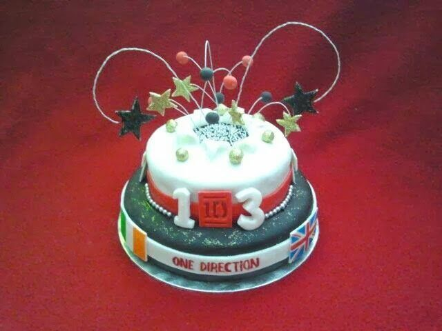 FrikiCake: Tarta One DIrection
