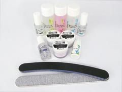 Acrylic Nail Starter Kit B + Medium Speed Liquid