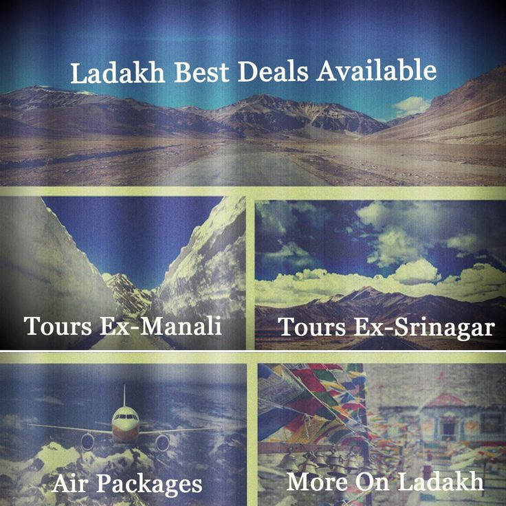 Ladakh Tour Packages By Air