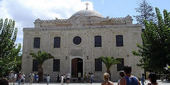 St. Titus Church in Heraklion, Crete
