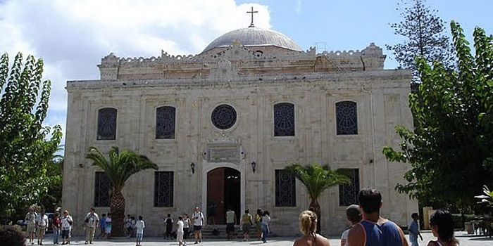 St. Titus Church in Heraklion, Crete