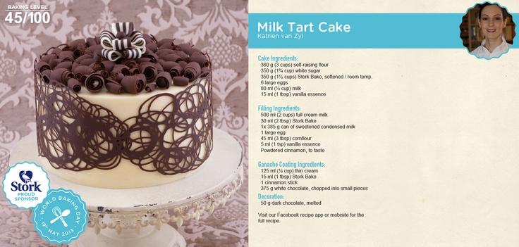 Milk Tart Cake!