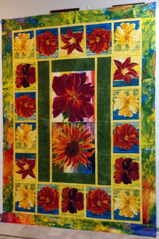 Large Fabric Panels : Best images about panels large prints quilts on