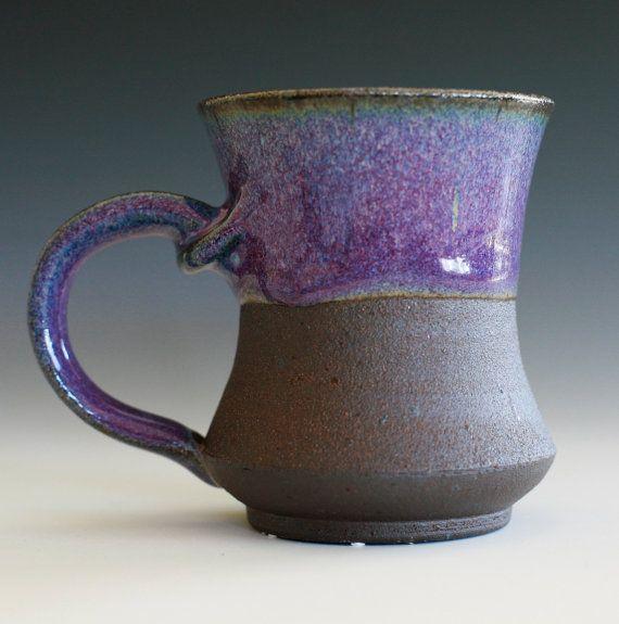 Love half glazed   Pottery Mug