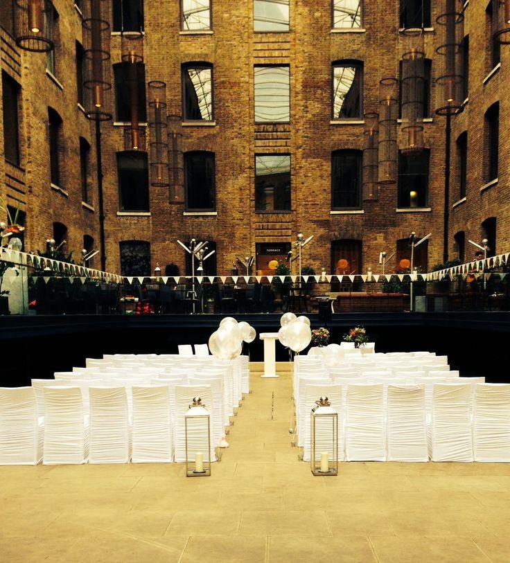 Simply Beautiful Nyc Style London Wedding Venue
