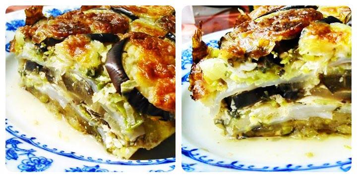 Padlizsános NoCarb Lasagne   Klikk a képre a receptért!