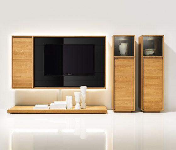 Wall shelves | Storage-Shelving | lux TV unit | TEAM 7 | Jacob. Check it out on Architonic
