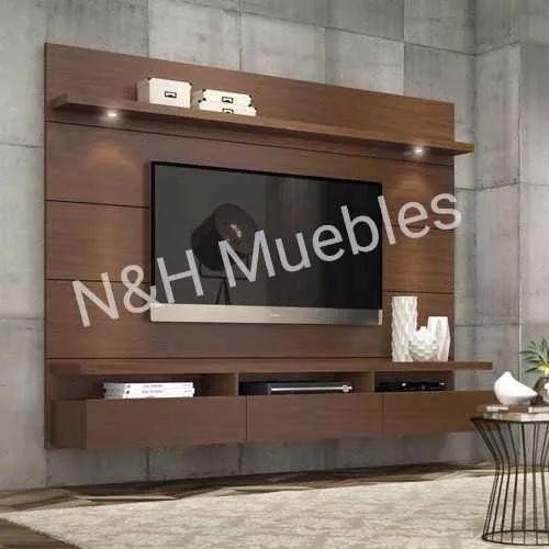 Panel Tv Led Lcd Rack Moderno Living Nyh - $ 4.999,00