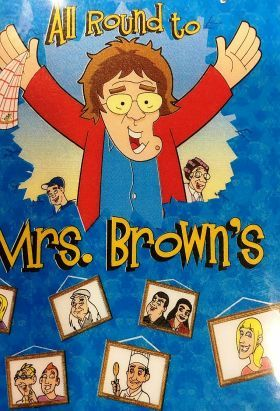(2017) Mrs. Brown - All Round to Mrs. Brown's / S: 1 / Ep. 6 / Comedy, Game-Show, Talk-Show / Stars: Brendan O'Carroll, Jennifer Gibney, Paddy Houlihan / Mrs. Brown opens the doors to her house for a Saturday night entertainment show in which she and the family are joined by celebrity guests.