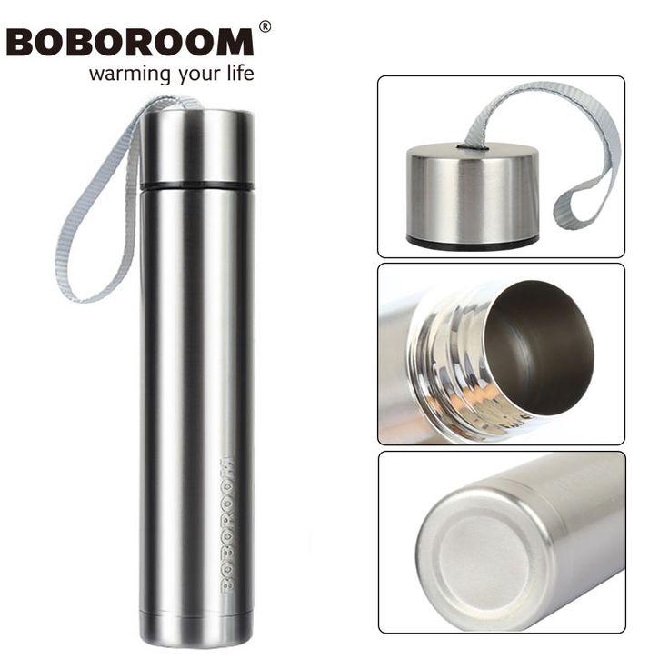 BOBOROOM Brands Stainless Steel Thermos Mug 2017 New Design Goddess Of Cup Thermos Flask 250ML Sliver Vacuum Mug Garrafa Termica