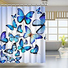 Butterfly bathroom decorations are simply lovely - taking their colors and blends from nature itself - such a beautiful way to decorate your bathroom.