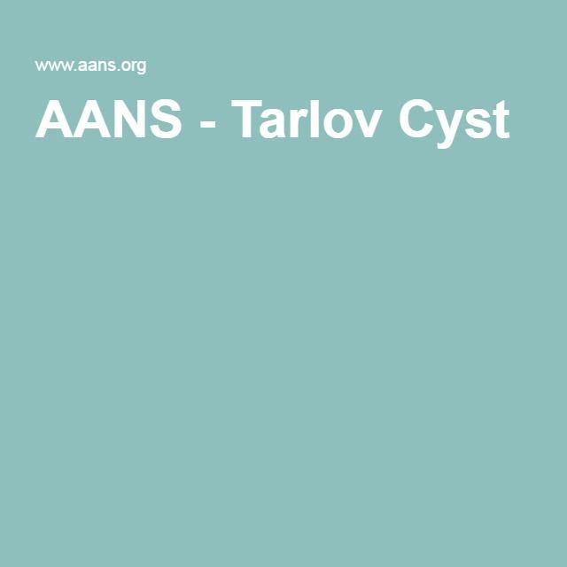 AANS - Tarlov Cyst