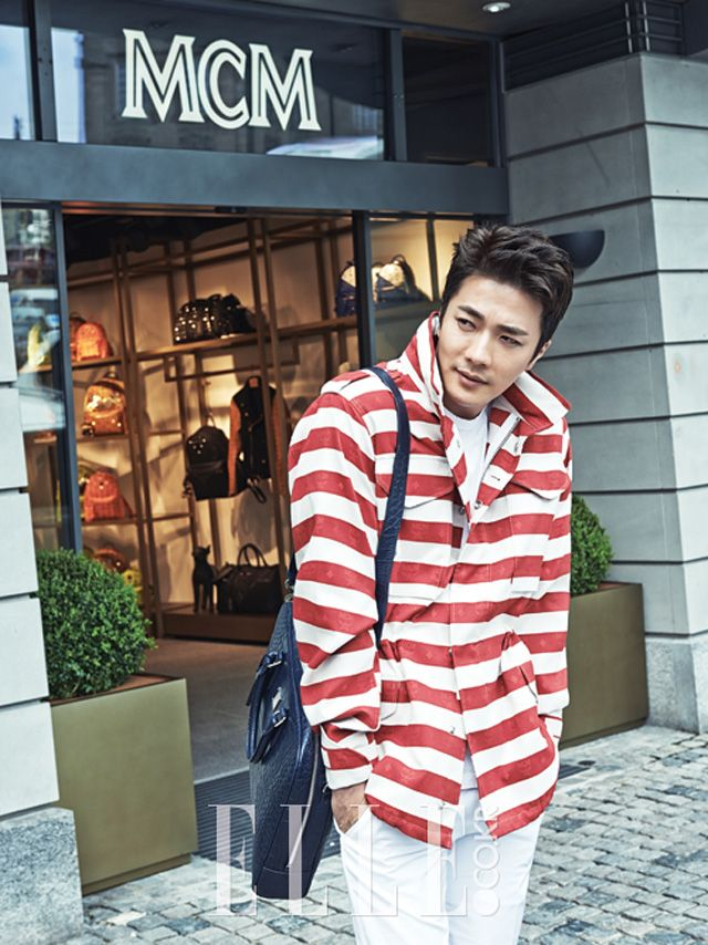 Kwon Sang-woo // Elle Korea // June 2013 ~ SHEESH. ^_^