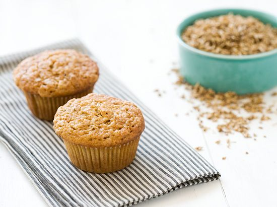 Spent Grain Applesauce Muffins - excited to make this recipe using spent barley grains from my husband's latest brew :)