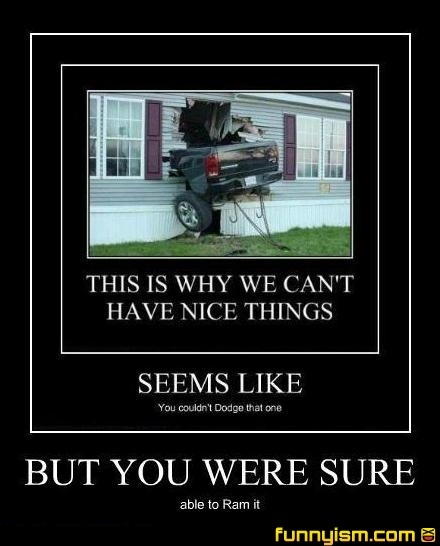 car crash pun | Demotivational Pics | Car crashes ...
