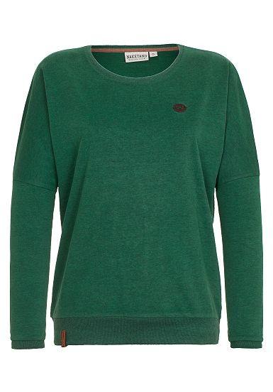 NAKETANO Green Schmusi - Sweatshirt für Damen - Grün - Planet Sports