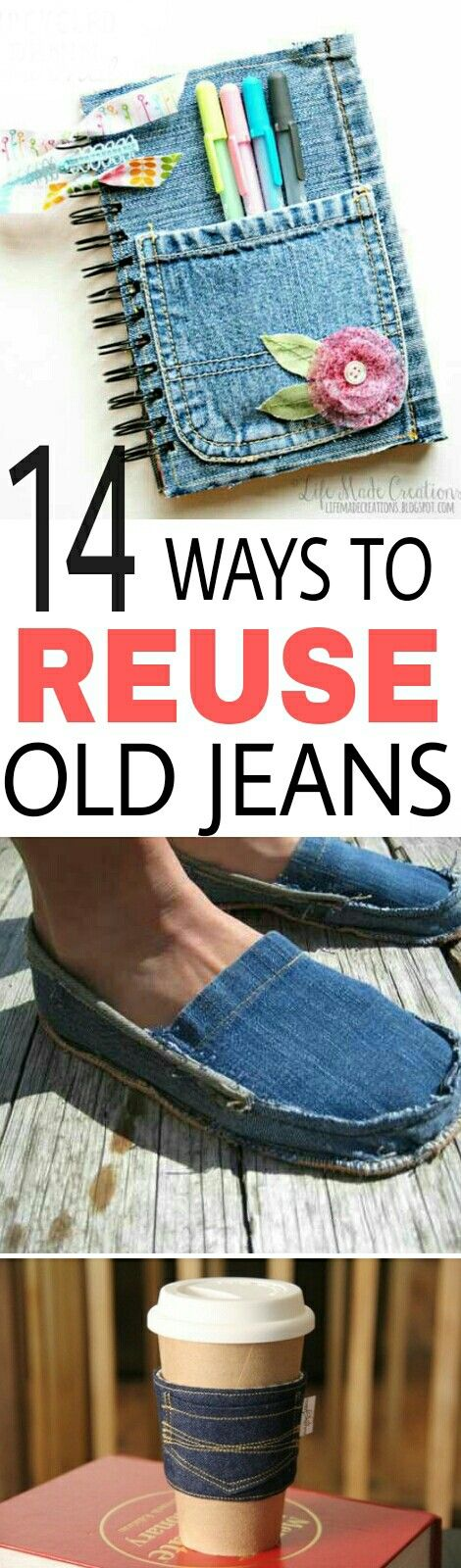 DIY ideas, Recycle Jeans, DIY tips, Reuse Old Denim, Frugal Living Ideas, popular pin, Money saving ideas