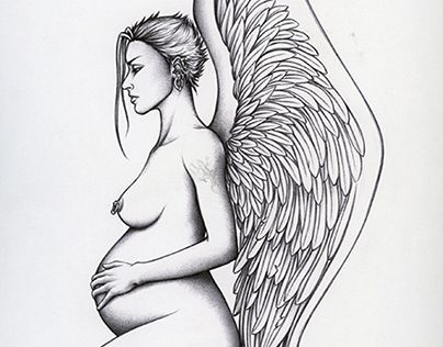 """Check out new work on my @Behance portfolio: """"Angels"""" http://be.net/gallery/50741711/Angels"""