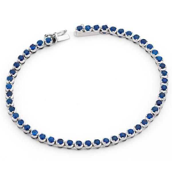 Our Classic Tennis Bracelet in White Gold is available online. Head to Reign Sapphires to see more designs.