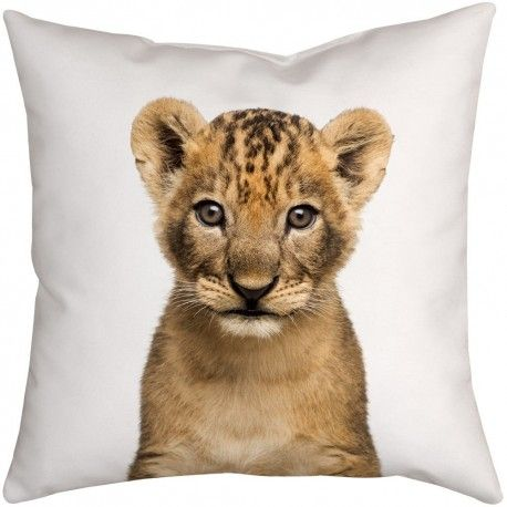 Cute Baby Lion Cub Nursery Decor Cushion. Find your favourite woodland animals in a range of sizes from throw cushions to floor cushions at choosy - we ship internationally.