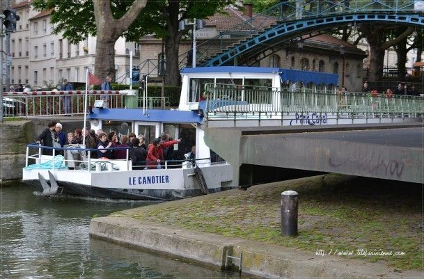 1 Ecluse Canal Saint-Martin 9